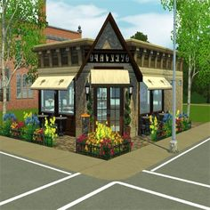 Delightful Decadence Bake Shop-CC Free by Tiki5872 - The Exchange - Community - The Sims 3