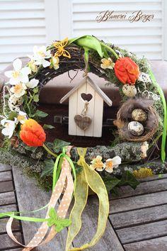 """::::+Türkranz+""""+Frühlingswillkommen+""""+::::+von+::::::::+Blumerei+Berger+::::::::+auf+DaWanda.com"""