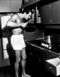 I want one of these in my kitchen - and I don't mean the appliances! he was a stunning man, pity for us girls he preferred men :(