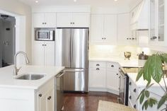 Diaries of an Interior Design Mom! All White Kitchen, Kitchen Cabinets, Urban, Interior Design, Home Decor, Nest Design, Home Interior Design, Interior Designing, Home Interiors