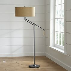 Autry Floor Lamp   Crate and Barrel.  $349.00 (Regular Price)