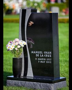 Dan Bellan Design provides unique, personalized monuments and memorials that are as unique as each life or event they are meant to represent. Cemetery Monuments, Cemetery Art, Tombstone Designs, Grave Headstones, Memorial Markers, Cemetery Decorations, Funeral Urns, Signage Design, Grave Memorials