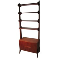 Mid-Century Scandanavian Modern Shelving Unit   From a unique collection of antique and modern shelves at https://www.1stdibs.com/furniture/storage-case-pieces/shelves/