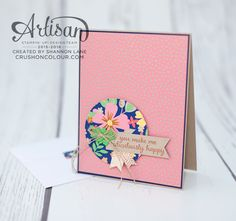 Crush On Colour: 2016-2017 Annual Catalog Sneak Peek - International Stampin' Up! Blog Hop!