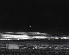 Luar, Hernandez, Novo México, 1948, de Ansel Adams vale 609.600 dólares.
