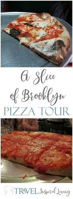 Looking for things to do in New York City? A slice of Brooklyn Pizza Tour provides an overview of Brooklyn with great pizza. #NewYork #Brooklyn #PizzaTour #FoodTour #NewYorkCity