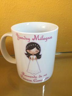 My First Holy Communion Mug - Comunion Mug - Primera Comunion by DesignStudioARTE on Etsy