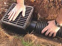 DIY (Do It Yourself) Guide – Improve Drainage in your Garden How to Improve Drainage in your Garden Firstly, this guide is for smaller drainage jobs that can be attempted by do it your gardeners. Any larger drainage jobs should … Continue reading → Drain Français, Drain Tile, French Drain Installation, Drainage Solutions, Drainage Ideas, Drainage Ditch, Water From Air, Backyard Landscaping, Backyard Drainage