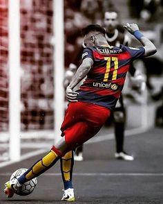 Neymar beyond. Neymar Barcelona, Barcelona Team, Barcelona Football, Neymar Football, Madrid Football, Messi Soccer, Football Boys, Best Football Players, Soccer Players