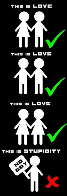 LittleMonsters - C: LOVE IS LOVE! - Backplane this! she posted it on her little monsters website! I couldn't agree more. This is off lady gaga's fan page and I love Frases Lgbt, Lgbt Quotes, Lgbt Memes, Funny Quotes, Wife Quotes, Friend Quotes, Quotes Quotes, Gay Aesthetic, Lgbt Community