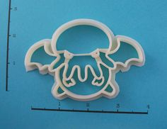 Cthulhu Cookie Cutter by WarpZone on Etsy, $5.00. This Etsy store has AWESOME cookie cutters!