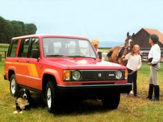 Isuzu Trooper II 5-door '1983–86