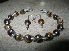Eye of the Tiger Bracelet & Earrings