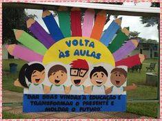 Ateliê Baú dos Sonhos: Painel Volta às Aulas!!!