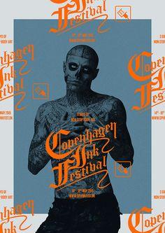 Copenhagen Ink Festival on Behance