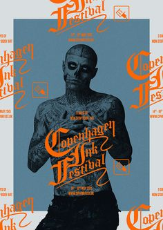visualgraphc: Copenhagen Ink Festival by Thomas Joakim Tagged: design graphic design poster print visualgraphc