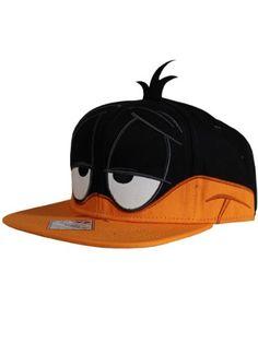 Looney Tunes Daffy Duck Snapback Cap @ niftywarehouse.com Cartoon Expression, Daffy Duck, Puma Suede, Snapback Cap, Looney Tunes, Nfl, Nerd Geek, Larry, Hats