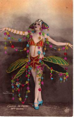 """Casino de Paris"" Melle. Whiard (c.1920)"
