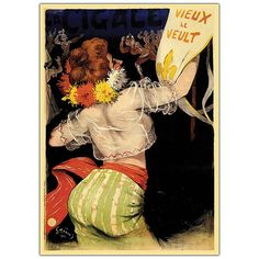 Vieux Le Veult-Framed 35x47 Canvas Art