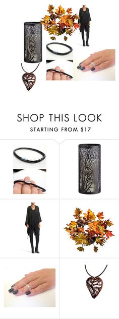 """""""A beautiful set for autumn"""" by viyoli ❤ liked on Polyvore featuring Allstate Floral, Autumn Cashmere and Improvements"""