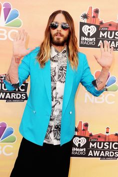 Pin for Later: Ladies and Gentlemen, Jared Leto Is Still Very Much a Rock Star