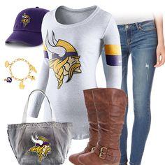 Cute Minnesota Vikings Outfit