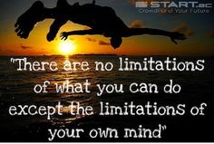 There are no limitations of what you can do. Bring your ideas to life at www.start.ac #crowdfunding