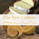 Lemon Pound Cake For National Pound Cake Day