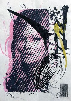 975b209553 Catawiki online auction house  Dimitri Jelezky - Kate Moss - This original  work is for