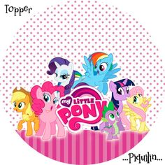 My Little Pony Cumpleaños, Fiesta Little Pony, Cumple My Little Pony, Little Poney, Mini Pony, Party Kit, Diy Party, My Little Pony Unicornio, Fiesta Rainbow Dash