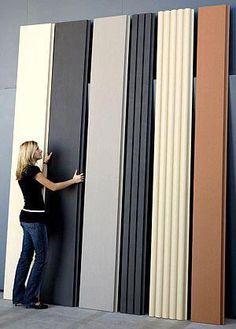 #SillonesModernos Cladding Design, Exterior Wall Cladding, House Cladding, Cladding Systems, House Siding, Facade Design, Facade House, Exterior Design, Steel Cladding