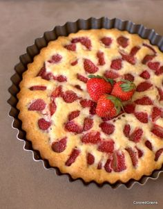 Strawberry Cake from Colored Grains