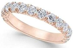 Looking for Rose Gold 1 Cttw Pave Diamond Anniversary Band ? Check out our picks for the Rose Gold 1 Cttw Pave Diamond Anniversary Band from the popular stores - all in one. White Gold Diamonds, Rose Gold, Moissanite Bridal Sets, Diamond Anniversary Bands, Black Diamond Engagement, Initial Pendant Necklace, Diamond Studs, Wedding Ring Bands, Luxury Jewelry