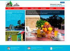 Página web Complejo Rural La Caraba