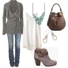 sophisticated casual, created by amy-wallace-cozze on Polyvore