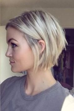 Choppy Short Inverted Bob
