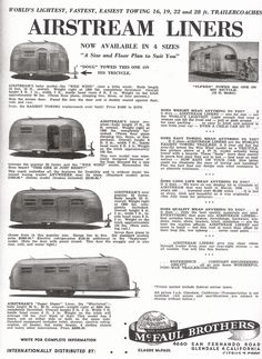 airstream layout - Google Search