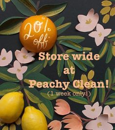 20% off storewide! Shop ethical, organic beauty and wellness products and get 20% off when you enter 'PeachyVIP' at the checkout! Limited time only - newsletter subscribers get first pick! Worldwide shipping www.peachyclean.com.au