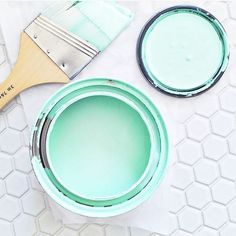 love love love this paint color so at our new house I sure do hope @griffinnw will be cool with it! img via @elsielarson