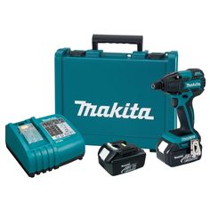 Makita 18-Volt LXT Lithium-Ion Brushless 1/4 in. Cordless Impact Driver Kit