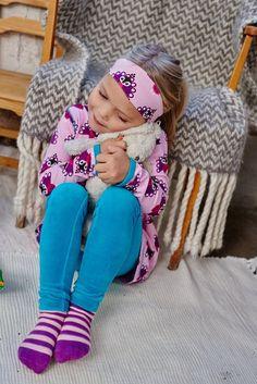 Heldenkind | Ballonkleid PEAKOCK in rosa mit Pfau und Taschen kaufen | Heldenkind