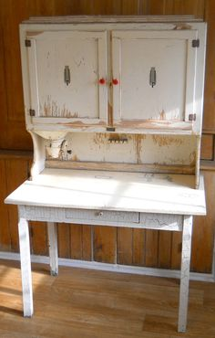Vintage Hoosier Cupboard and Table by lisabretrostyle2 on Etsy sold