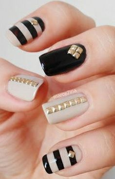 stripped nails studs