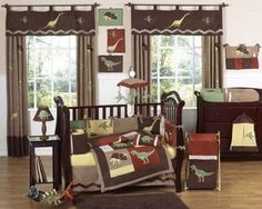 Dinosaur themed nursery Boys Bedding Sets, Crib Sets, Queen Comforter Sets, Twin Comforter, Dinosaur Crib Bedding, Baby Boy Crib Bedding, Dinosaur Bedroom, Nursery Bedding, Quilt Set