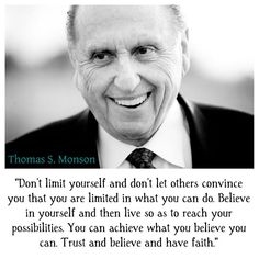 Don't Limit Yourself | Creative LDS Quotes