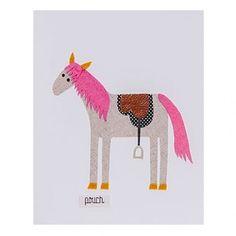 Medium Horse Unframed Wall Art