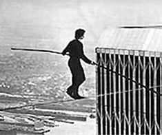 Before the Twin Towers Collapsed, This Daredevil Danced Between Them on a Tightrope Twin Towers Collapse, Impossible Dream, Easy Workouts, Daredevil, African Violet, Egg Diet, Houseplants, Doctors, Frugal