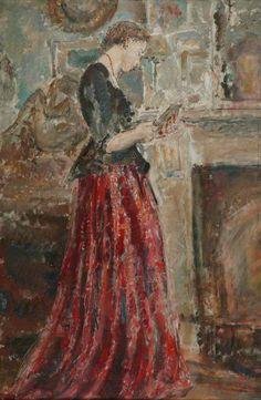 The Miniature by Ethel Walker