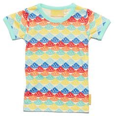 Boys&Girls Rainbow Melon Tee - Small to TALL