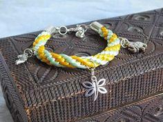 Bransoletki kumihimo Bracelets, Blog, Crafts, Jewelry, Style, Fashion, Swag, Moda, Manualidades